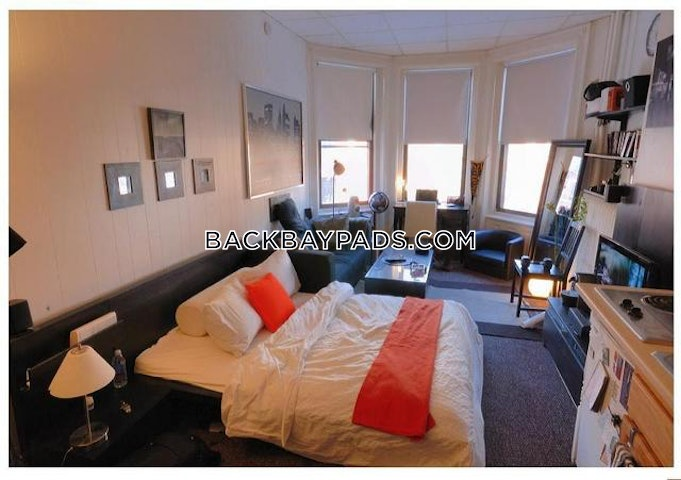 Single Listing Back Bay Apartment For Rent Studio 1 Bath Boston 795