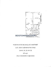 Fenway/kenmore Studio 1 Bath Boston - $1,700 No Fee